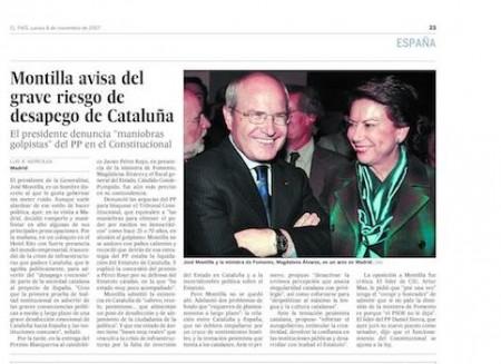 El País: curso básico de manipulación informativa